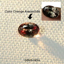 ~Very Rare~ 1.00 Cts Natural Alexandrite - Unheated Color Change - Oval - Brazil