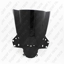 Black Double Bubble Windshield Windscreen For Honda CBR250R CBR 250R 2011-2013