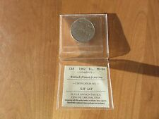 1982 CANADA $1 DOLLAR CONSTITUTION  ICCS MS - CHOICE UNCIRCULATED - 64
