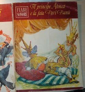 IL PRINCIPE AHMED E LA FATA PARI-BANÙ 1966 FIABE SONORE 38 FABBRI Lima + disco
