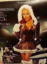 "Dreamgirl ""Eskimo Cutie"" Halloween Costume womens L"
