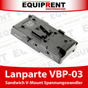 Lanparte VBP-03 Sandwich Spannungswandler für V-Mount Akkus (EQC85)