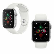 Apple Watch Series 5 40mm GPS Silver Aluminium Case White sport Band  C GRADE