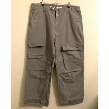Vtg Marithe Francois Girbaud Mens 44 Gray Pant Shuttle Strap Pants