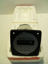 NEW GENERAL ELECTRIC AC TIME METER 50-240713AAAD1