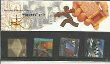 GB 1999  Millenium Series The Workers Tale Presentation Pack   umm / mnh