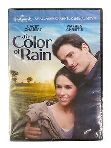 The Color of Rain Hallmark Original Movie (DVD, 2017) Lacey Chandra New SEALED