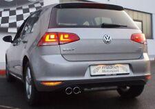 FMS Sportauspuff Edelstahl VW Golf VII ab Bj 08/2012 Frontantrieb 1.6l TDI 77kW