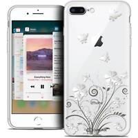 "Coque Crystal Gel Pour iPhone 8 Plus (5.5"") Extra Fine Souple Summer Papillons"