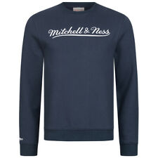 Mitchell & Ness Script Crew Herren Freizeit Sweatshirt MN-BRA-SCRPTLOGOCREW neu