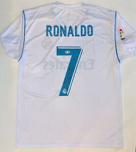Cristiano Ronaldo Autographed Real Madrid CF Jersey signed socce Beckett BAS COA