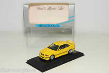 . MINICHAMPS BMW 318 IS 318IS E36 1994 YELLOW MINT BOXED RARE SELTEN RARO