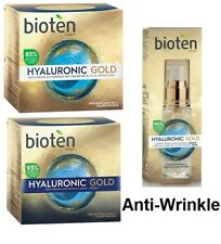 Bioten Hyaluronic Gold Face Day / Night Cream Anti-wrinkles Serum Replumping