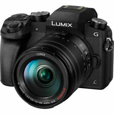 Panasonic LUMIX G7 16MP Digital SLR Camera - Black (Kit with 14-42mm Lens)