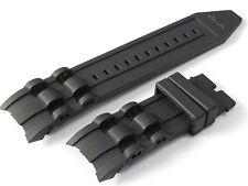 26mm Black Rubber Watch Band Strap For Invicta Pro Diver 6977-6978-6981-6983