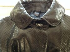 Woman's 1970's Gucci snake skin XS Coat; collector's item