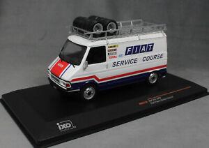 IXO Fiat 242 Fiat France Rally Support 1979 RAC273X 1/43 NEW