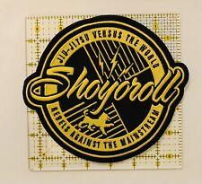 Shoyroll Jiu-Jitsu Versus The World Large Sew On Patch