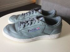 REEBOK Classics Light Blue Leather Trainers Size UK 8