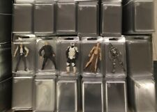 Lot Of 50 — Protectors Cases  For Loose  Small Action Figures
