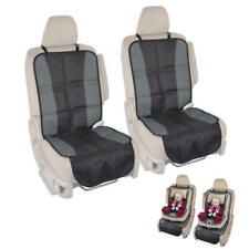 2pc Car Seat Protector Covers - Rubberized Backing Prevents Slip Saves interior