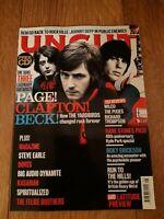 UNCUT MAGAZINE ( AUGUST 2009 ) PAGE CLAPTON BECK DOVES STEVE EARLE STONES REM