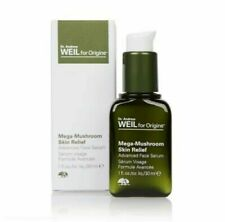 NIB Dr. Andrew WEIL ORIGINS Mega Mushroom Skin Relief Advanced Face Serum1oz/30m