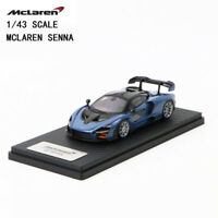1/43 Mclaren Senna Scale Model Victory Grey 18OEM02 Car Model Best Collection