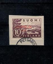 Z53) 1930 Finland Zeppelinzegel op papier opdruk fake/maakwerk