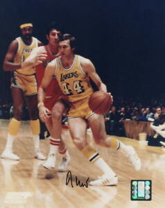 JERRY WEST SIGNED AUTOGRAPH 8x10 PHOTO - LOS ANGELES LAKERS ICON, 50 GREATEST