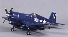 F4U Wingspan: 31.5 in (800mm) Ready To Fly, Blue, V2 Brushless RC Airplane