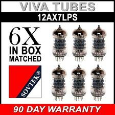 New Matched Sextet (6) Sovtek 12AX7LPS / ECC83 12AX7 Vacuum Tube FREE SHIP
