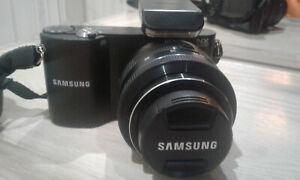 Samsung NX1000 20.3 MP Mirrorless Digital Camera with 20-50mm Lens - Black