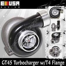 "EMUSA Universal GT45 Turbo/Turbocharger 600+HP Boost Universal T4/T66 3.5""V-Band"