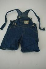 American Girl Pleasant Company Earth Day Overalls Shortalls Missing Hardware