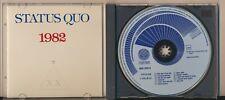Status Quo - 1982, Original Blue Swirl, Vertigo, West Germany, Very Rare CD!