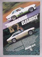 Jaguar XJ-S PRINT AD - 1978