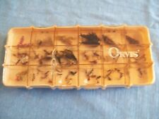 Vtg Orvis Fly Box W/Flies