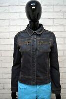 MARLBORO CLASSICS Giubbino Donna Size S Jeans Giacca Jacket Giubbotto Cotone Blu