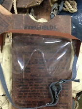2 PAIRS EYESHIELD ANTI-GAS GOGGLES VINTAGE 1940S [20078]