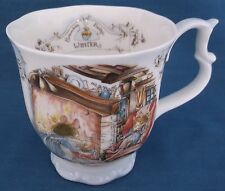 ROYAL DOULTON BRAMBLY HEDGE WINTER BEAKER CUP FOUR SEASONS JILL BARKLEM