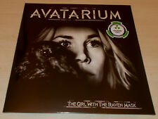 AVATARIUM-THE GIRL WITH THE RAVEN MASK-2015 2xLP CLEAR VINYL-300 ONLY-NEW/SEALED