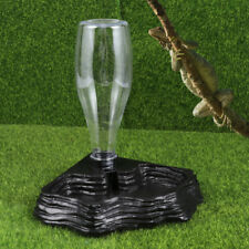 Reptile Automatic Drinking Fountain Pet Water Feeder Water Dispenser Bottle
