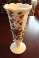 Westmoreland  Paneled Grape pattern Vase[signed]