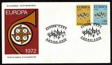 GREECE 1972 EUROPA - CEPT FDC