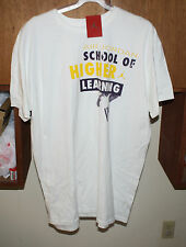 NIKE JORDAN SCHOOL OF HIGHER LEARNING T-SHIRT X-LARGE WHITE NWT FREE SHIPPING