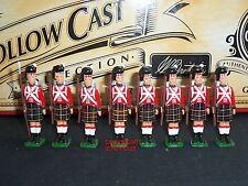 Britains 40195 HOLLOWCAST British Infantry Sergeant 1815 Metal Toy Soldier Set