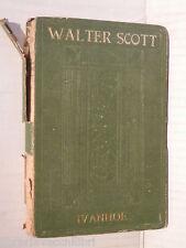 IVANHOE Vol I  Walter Scott Istituto Editoriale Italiano 1930 romanzo narrativa