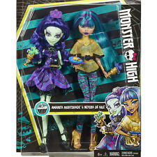 Monster High 2 Dolls Doll Set Amanita Nightshade & Nefera De Nile How do you Boo