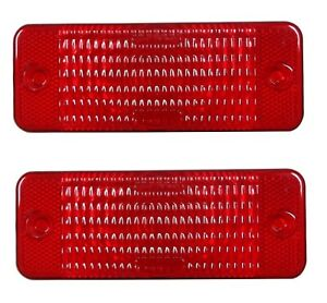 New TWO(2) Red Tail Light Lens fits Bobcat  S130 S150 S160 S175 S185 S205